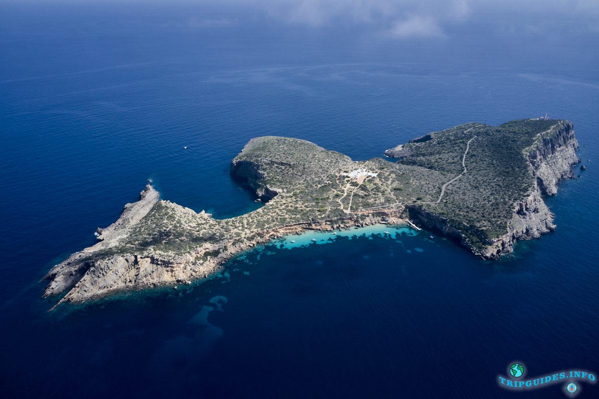 остров Тагомаго (Illa Tagomago), Балеарские острова, Испания