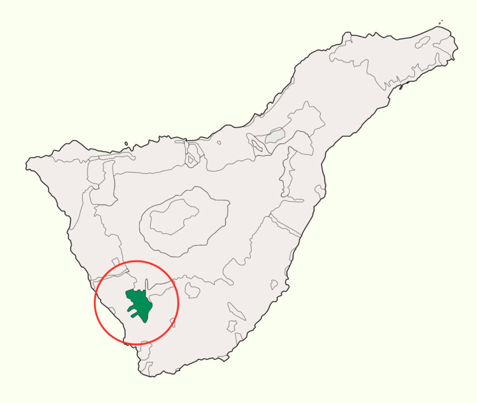 Адское ущелье Инфьерно на карте