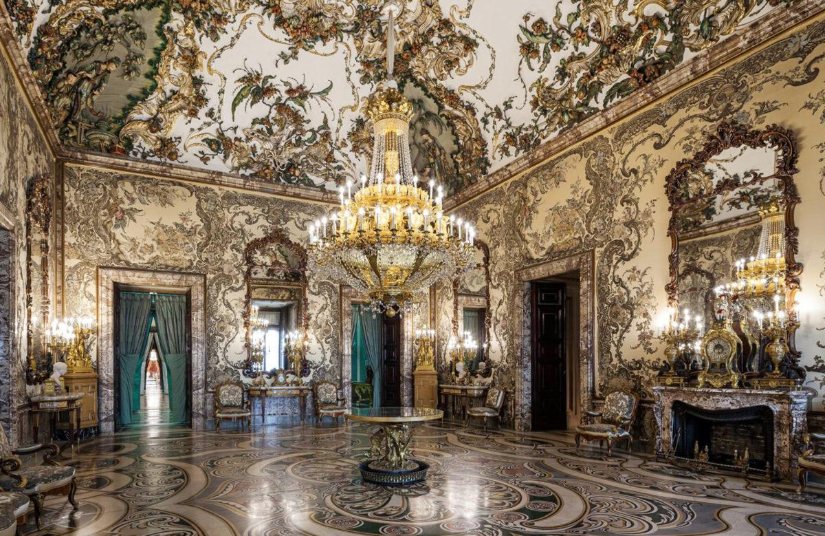 Cámara de Gasparini Королевский дворец в Мадриде, Испания - Palacio Real de Madrid