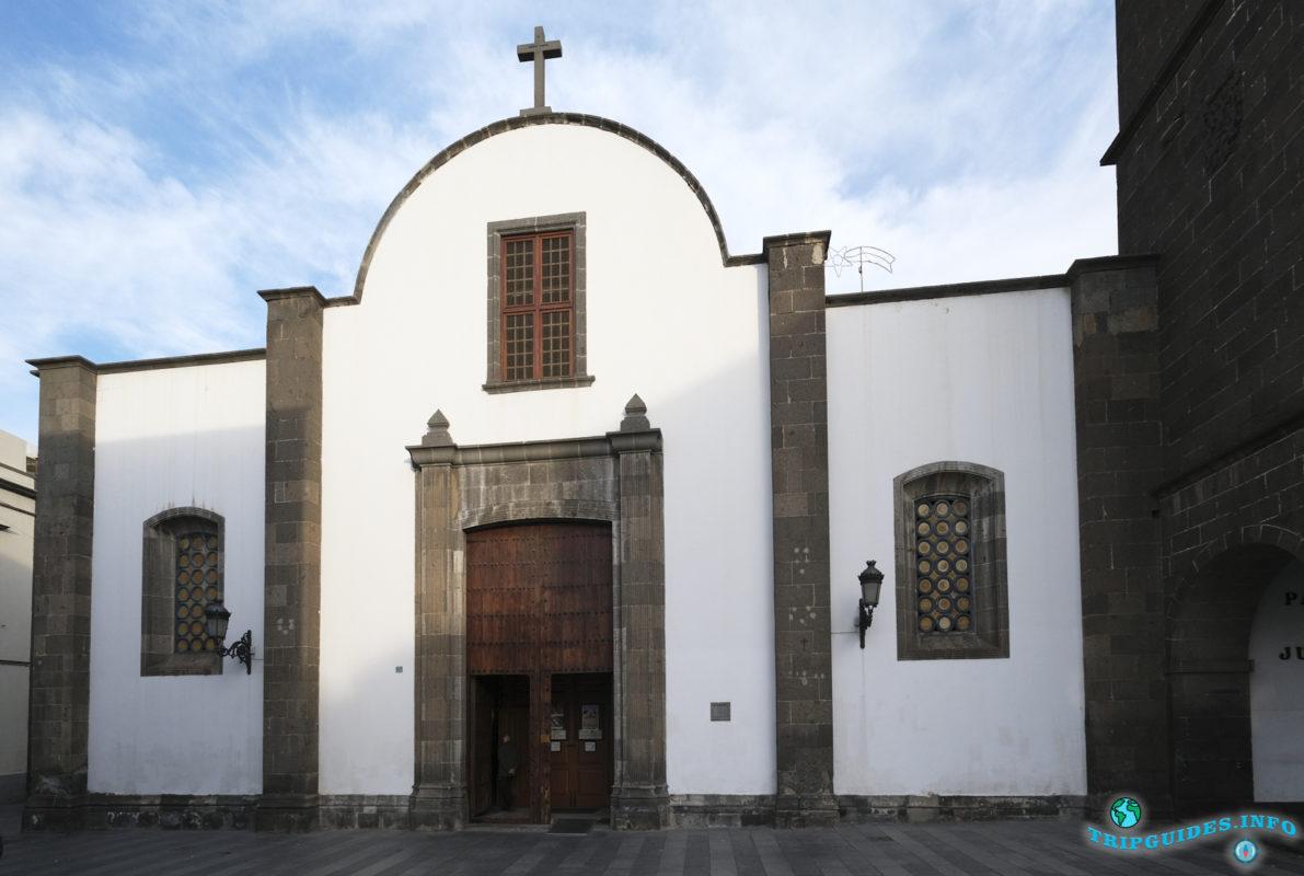 Церковь Святого Августина в районе Вегета в городе Лас-Пальмас-де-Гран-Канария, Испания