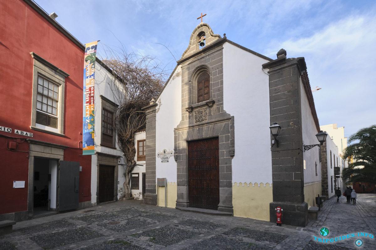 Церковь Сан-Антонио Абад в районе Вегета в городе Лас-Пальмас-де-Гран-Канария, Испания