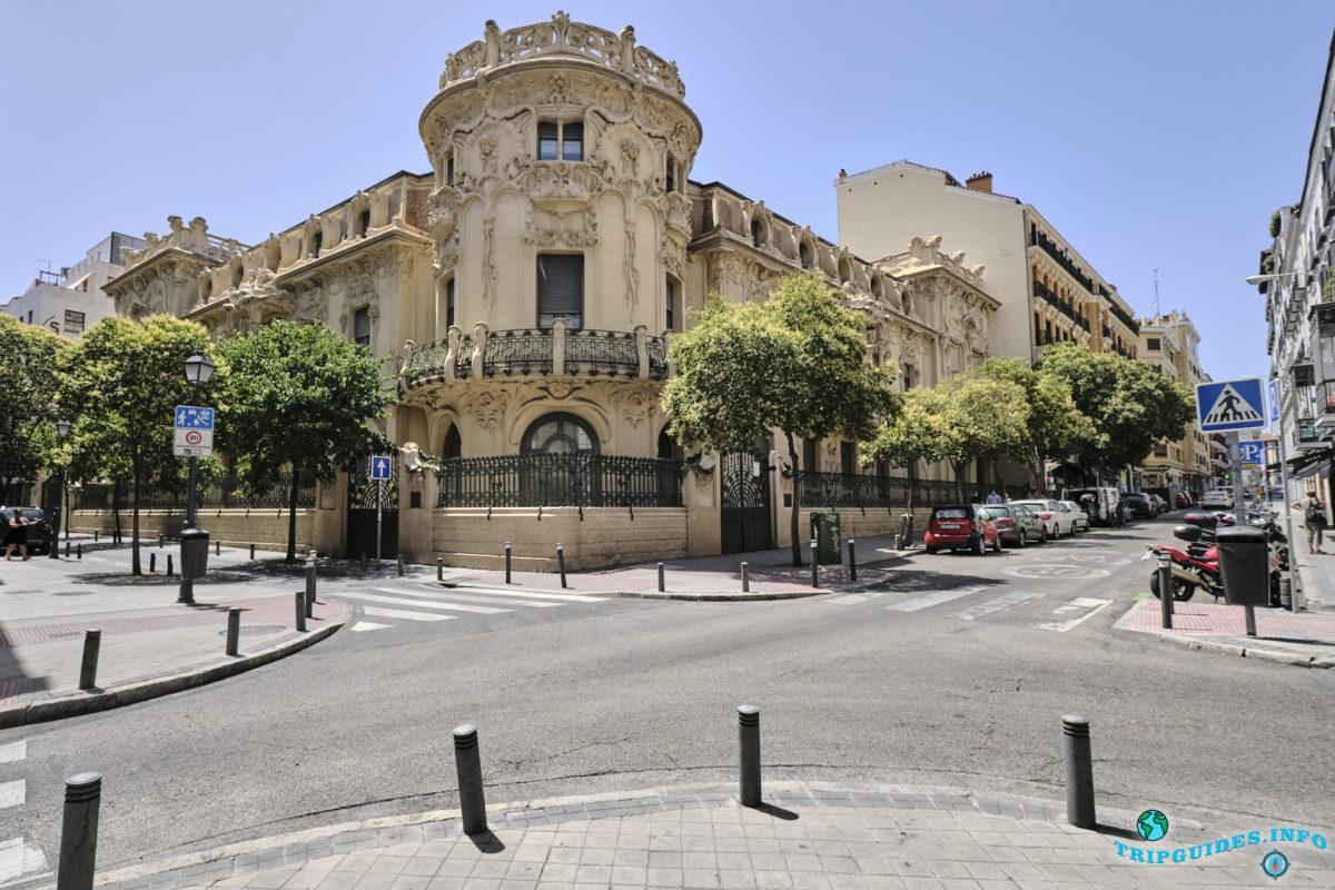 Дворец Лонгория в Мадриде, Испания - Palacio de Longoria
