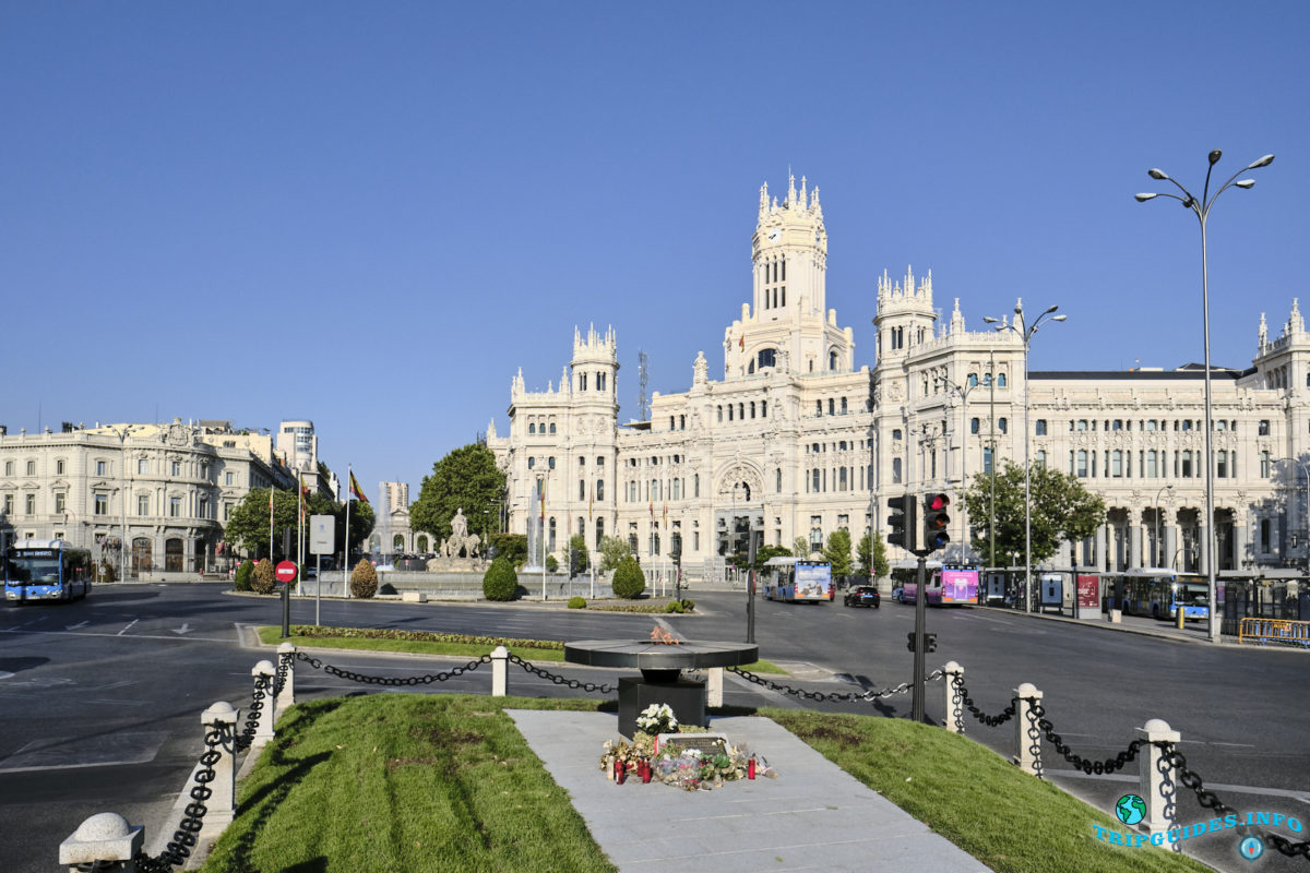Дворец Сибелес в Мадриде, Испания - Palacio de Cibeles