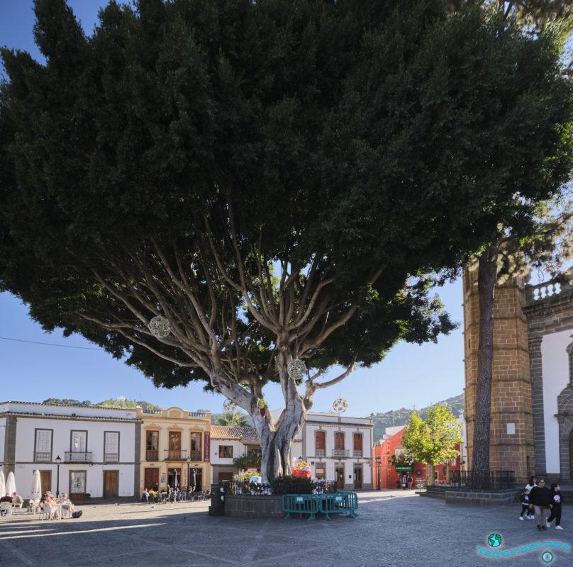 Город Терор на Гран-Канарии, Канарские острова, Испания