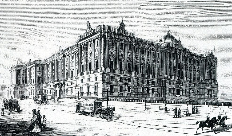 История Королевского дворца в Мадриде, Испания - Palacio Real de Madrid