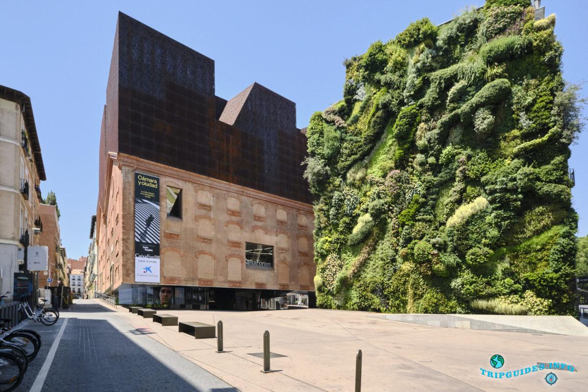 Культурный центр «Кайша-Форум» в Мадриде, Испания - CaixaForum Madrid