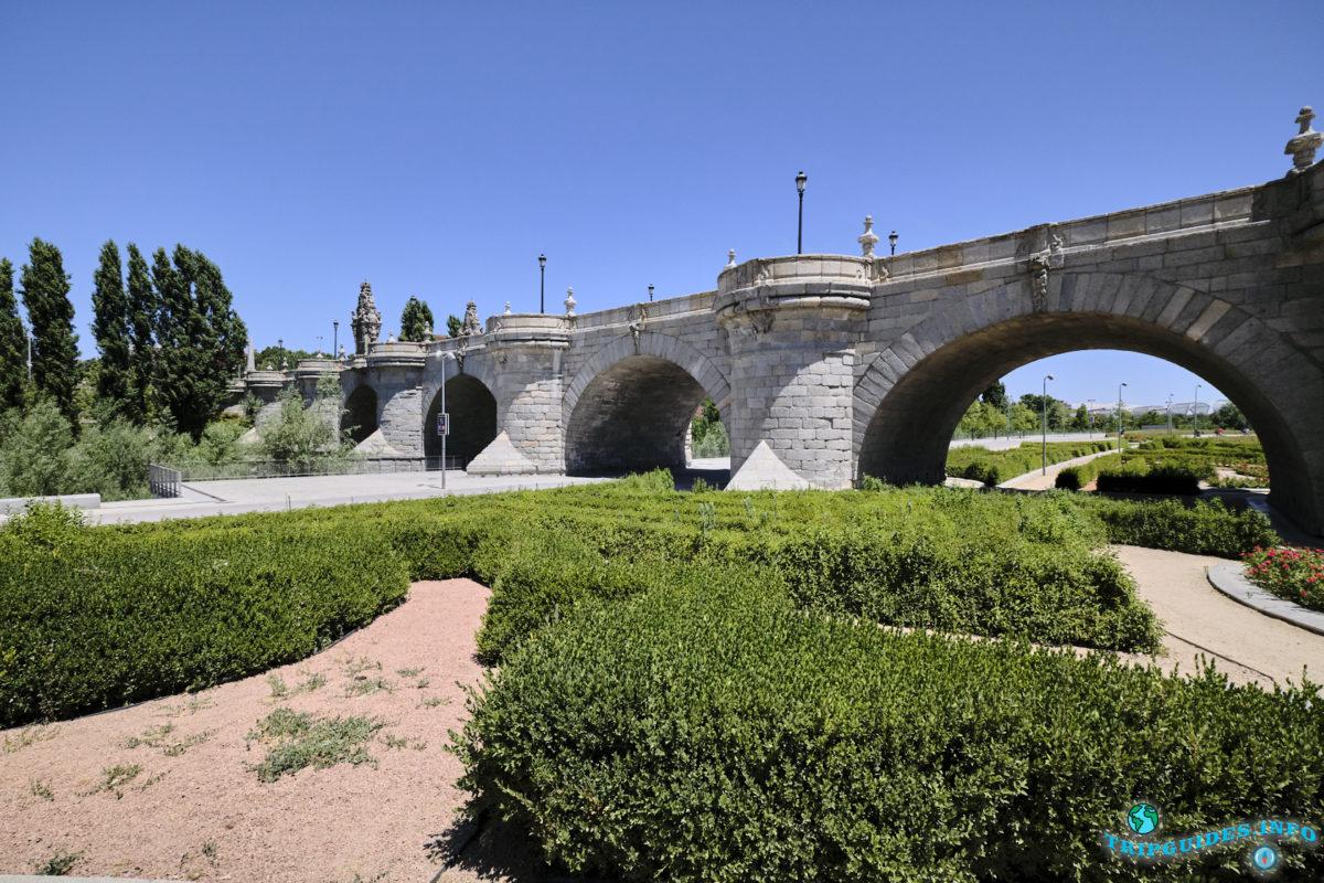 Мост Толедо в Мадриде, Испания - Puente de Toledo