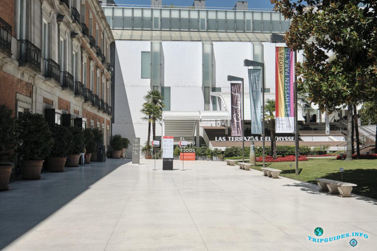 Музей Тиссена-Борнемисы в Мадриде, Испания - Museo Thyssen-Bornemisza