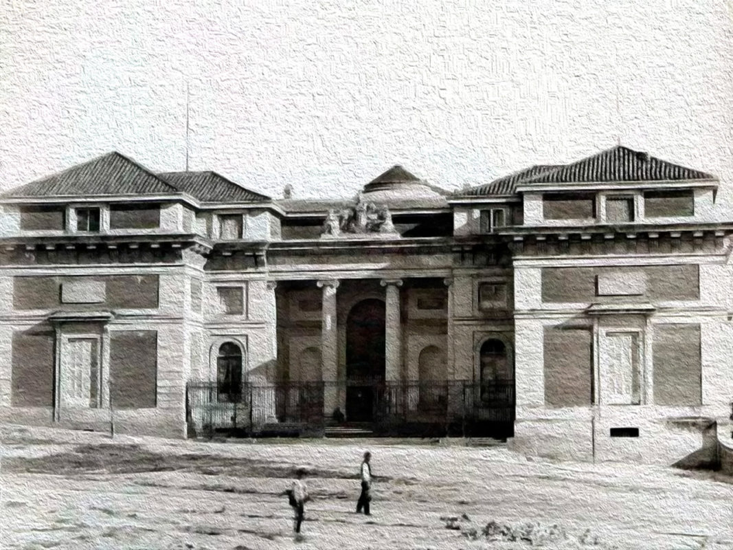 Музей Прадо в прошлом - Мадрид Испания
