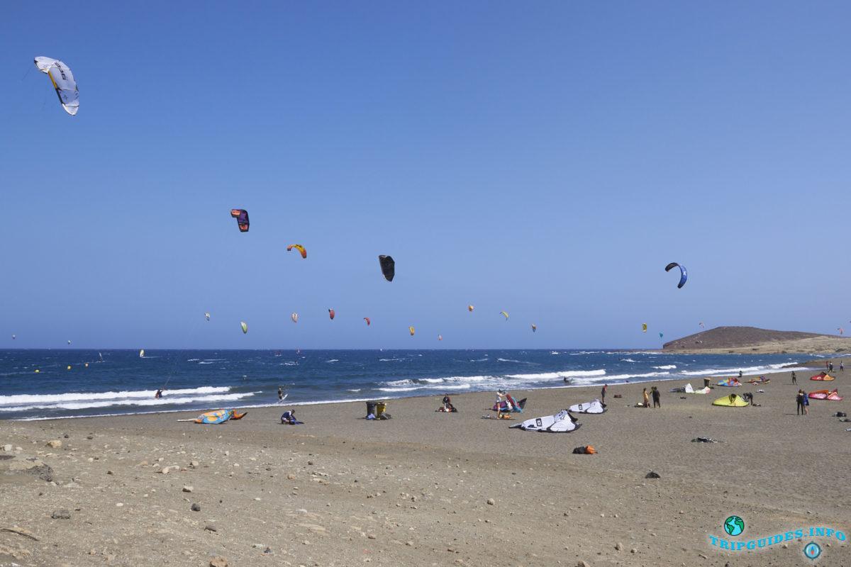 Отдых на Тенерифе - серфинг в Эль-Медано, Канарские острова, Испания