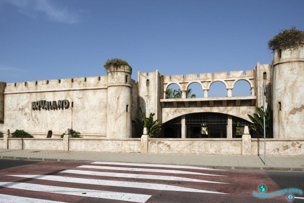 Отдых на Тенерифе - Аквапарк Аквалэнд, Канарские острова, Испания