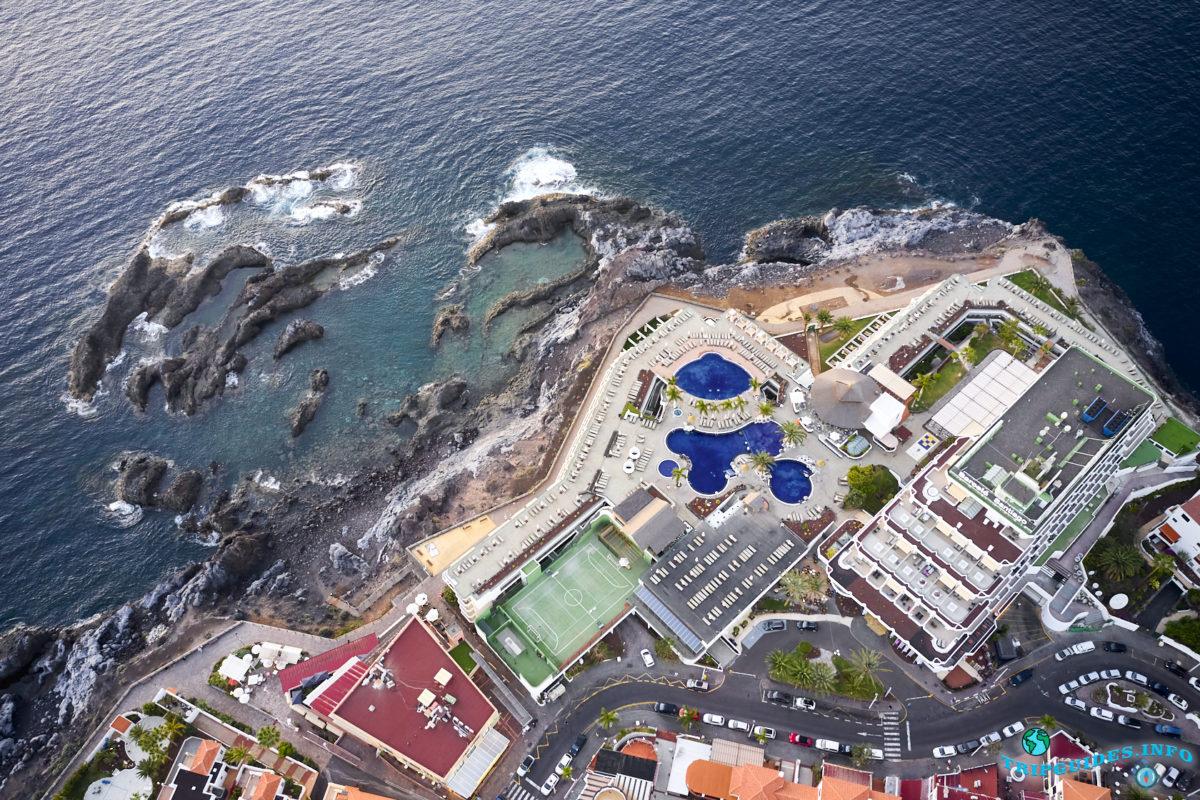 Отдых на Тенерифе - Купальная зона Пуэрто-де-Сантьяго, Канарские острова, Испания