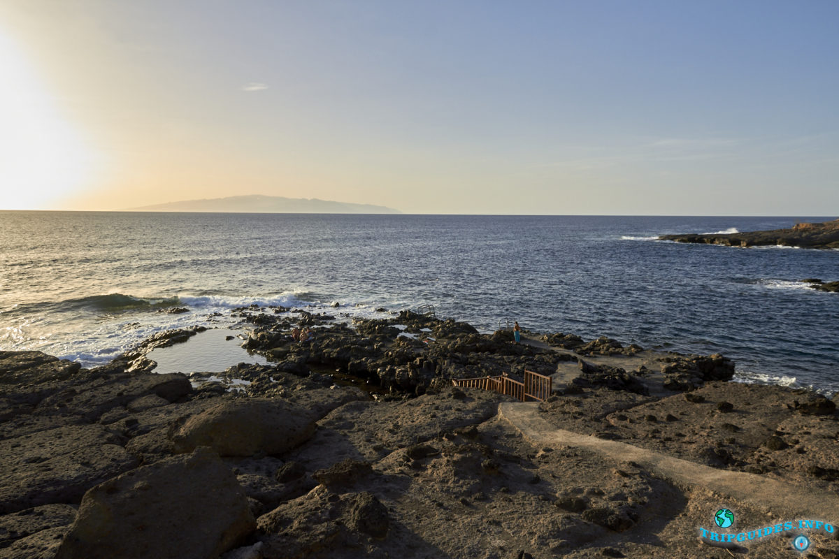Отдых на Тенерифе - Купальная зона Эль-Маркес, Канарские острова, Испания