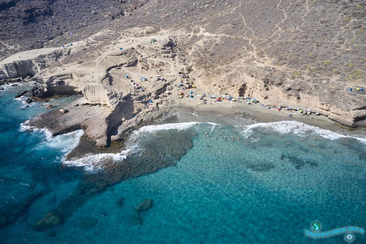 Отдых на Тенерифе - Пляж Диего Эрнандес, Канарские острова, Испания