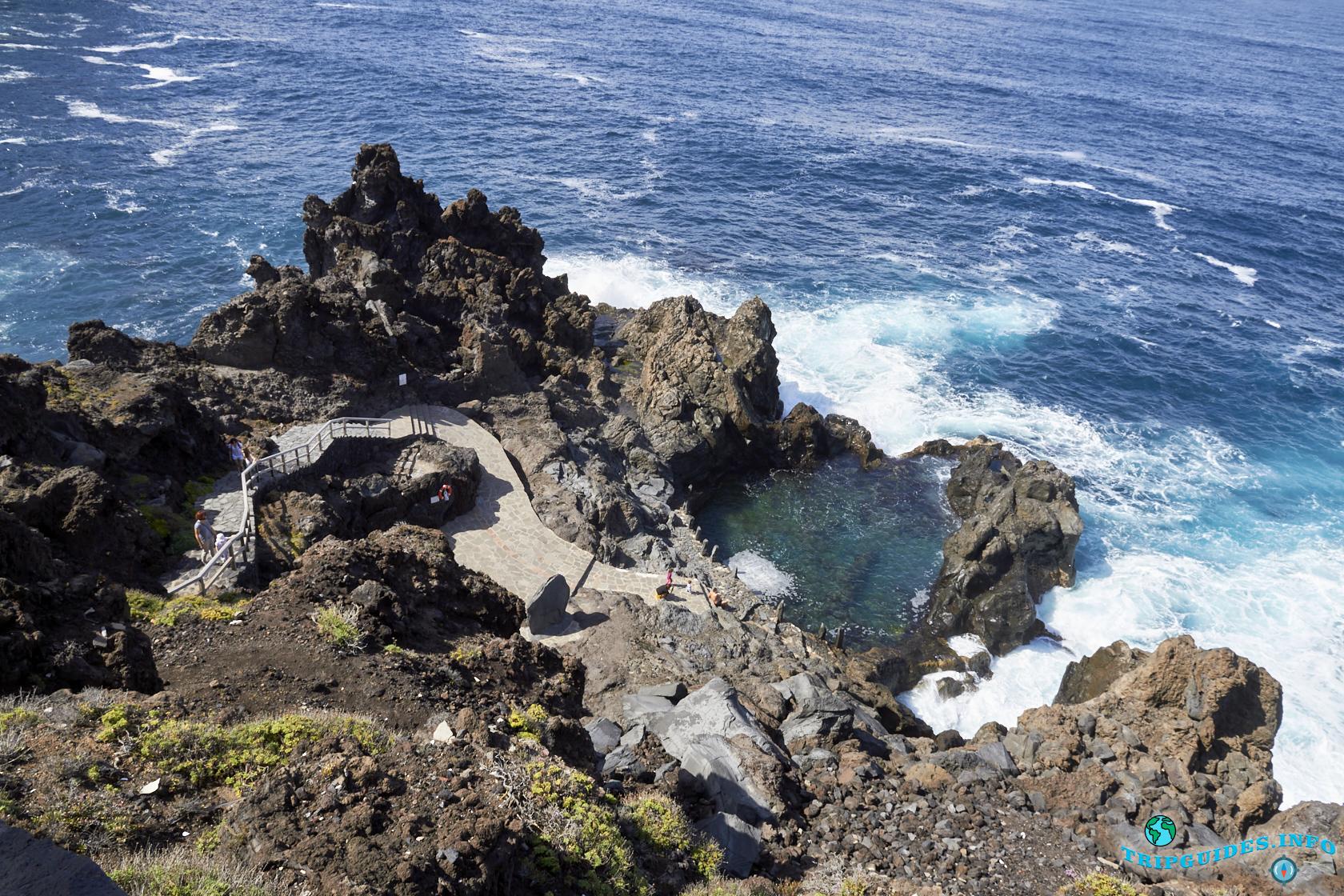 Отдых на Тенерифе - Природный бассейн Ла-Лаха, Канарские острова, Испания