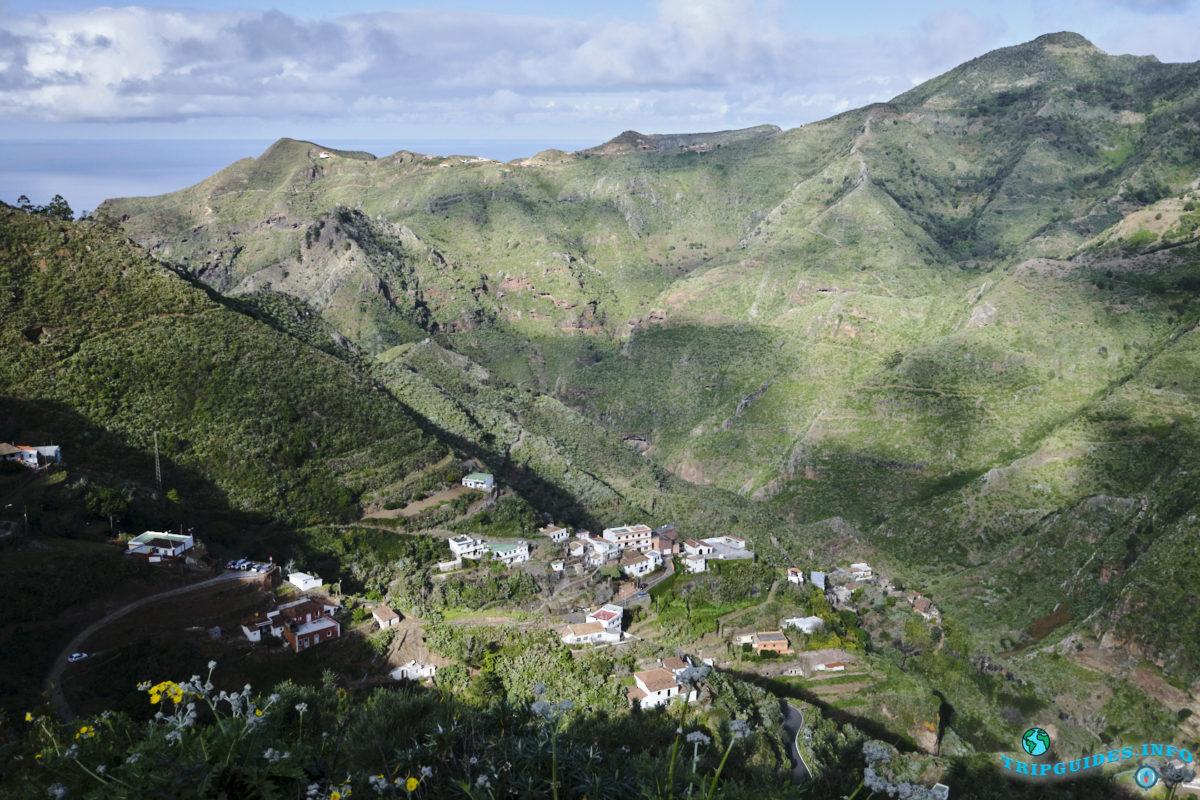 Отдых на Тенерифе - Природный парк Анага, Канарские острова, Испания