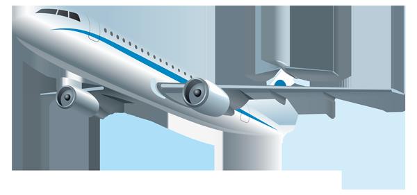 Перелет на пассажирском самолете