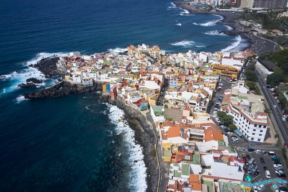 Пунта-Брава на Тенерифе - вид с высоты, Канарские острова, Испания