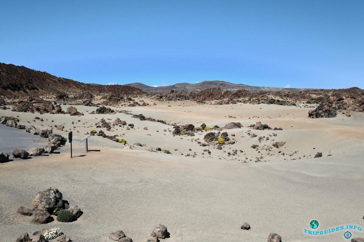 Смотровая площадка Minas de San Jose в Национальном Парке Тейде, Тенерифе, Канарские острова, Испания