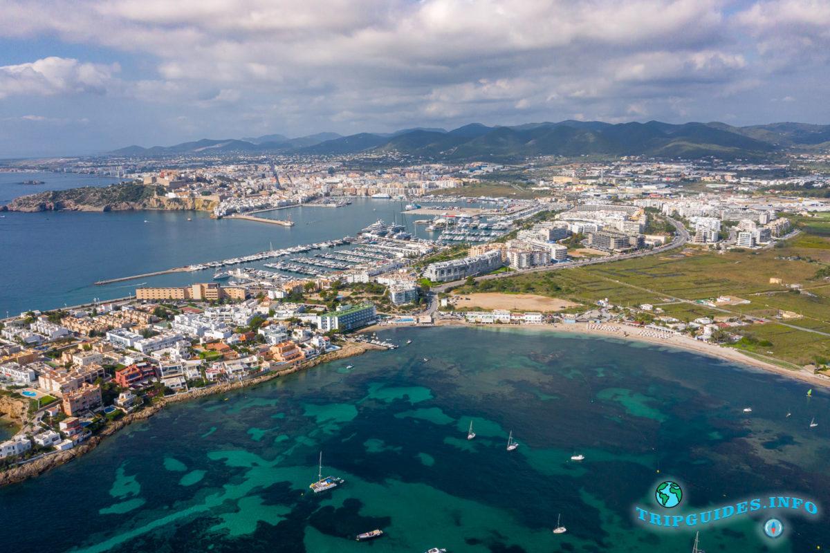 Таламанка - город Ибица - Ивиса, Балеарские острова, Испания