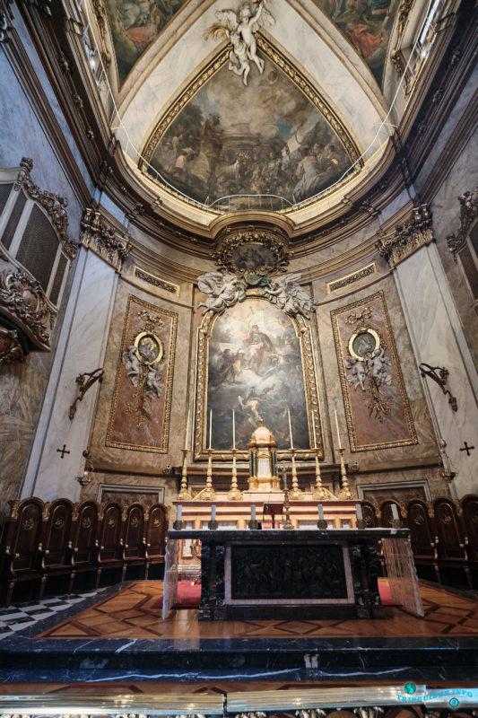 Базилика Святого Михаила в Мадриде, столице Испании (Basílica Pontificia de San Miguel)