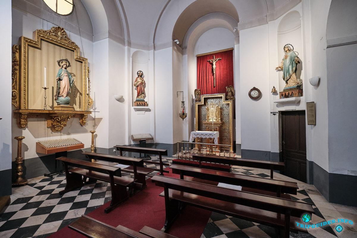 Церковь Сан-Педро-Эль-Вьехо в Мадриде - столица Испании - Iglesia de San Pedro el Viejo