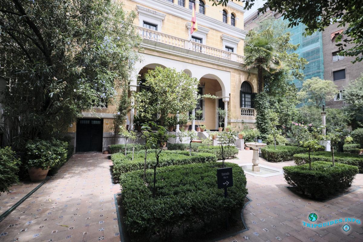 Дом-музей Хоакина Сорольи в Мадриде, Испания - Museo Sorolla
