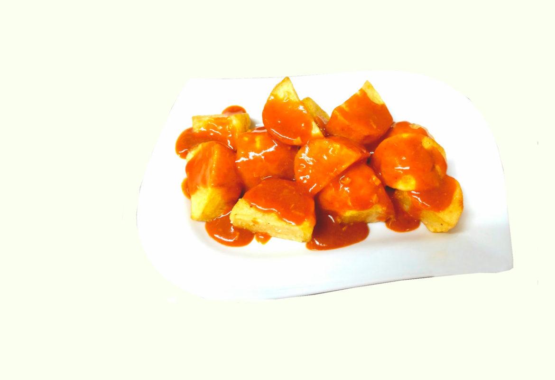 Кухня Мадрида - Картофель Бравас или острый картофель - Papas bravas madrileña