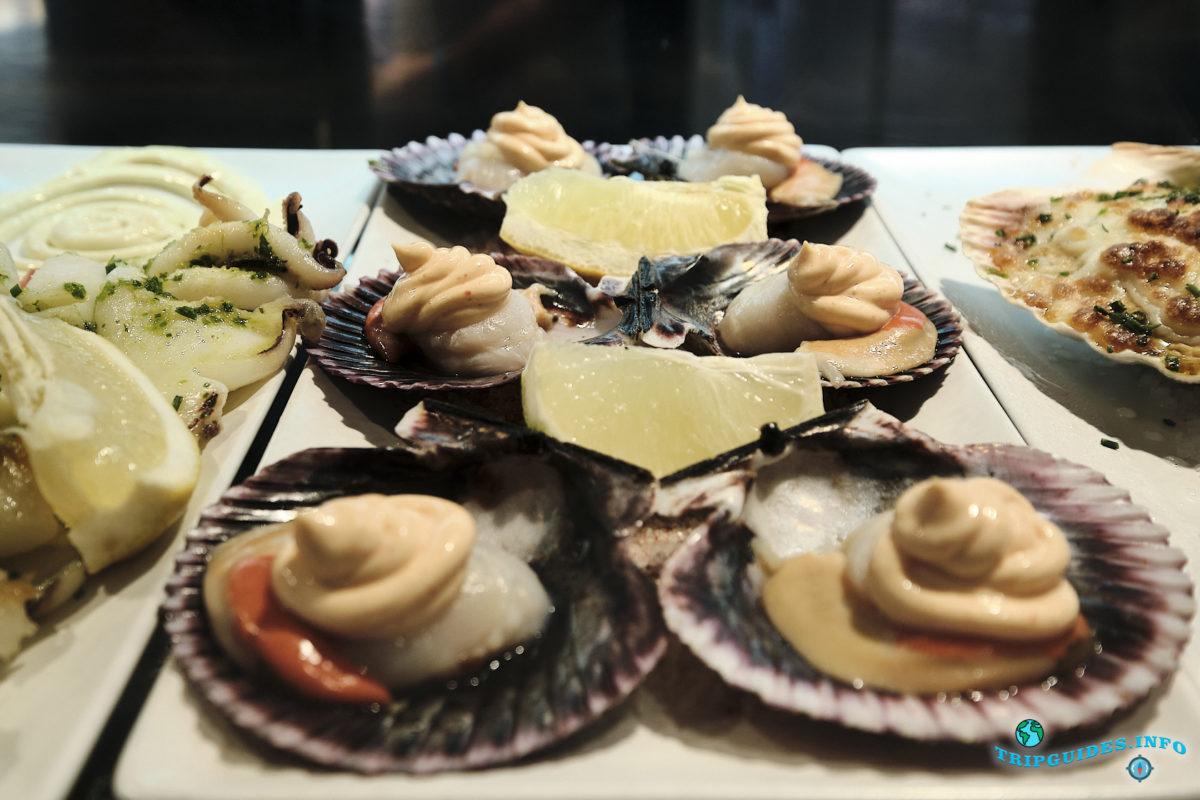 Кухня Мадрида - Закуски - Tapas