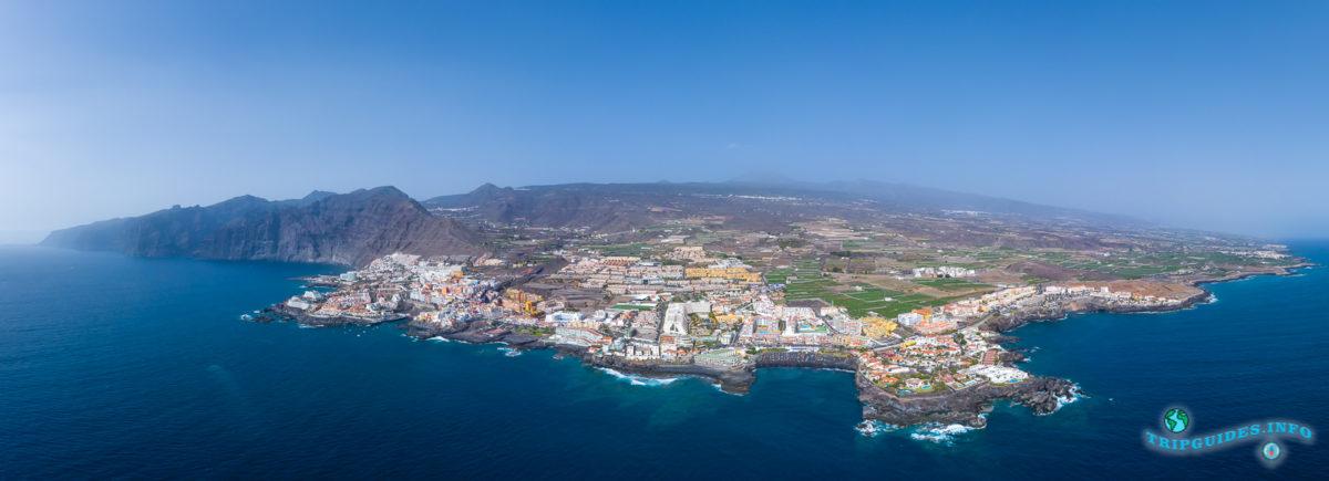 Курорт Пуэрто-де-Сантьяго на Тенерифе - Канарские острова, Испания - Puerto de Santiago