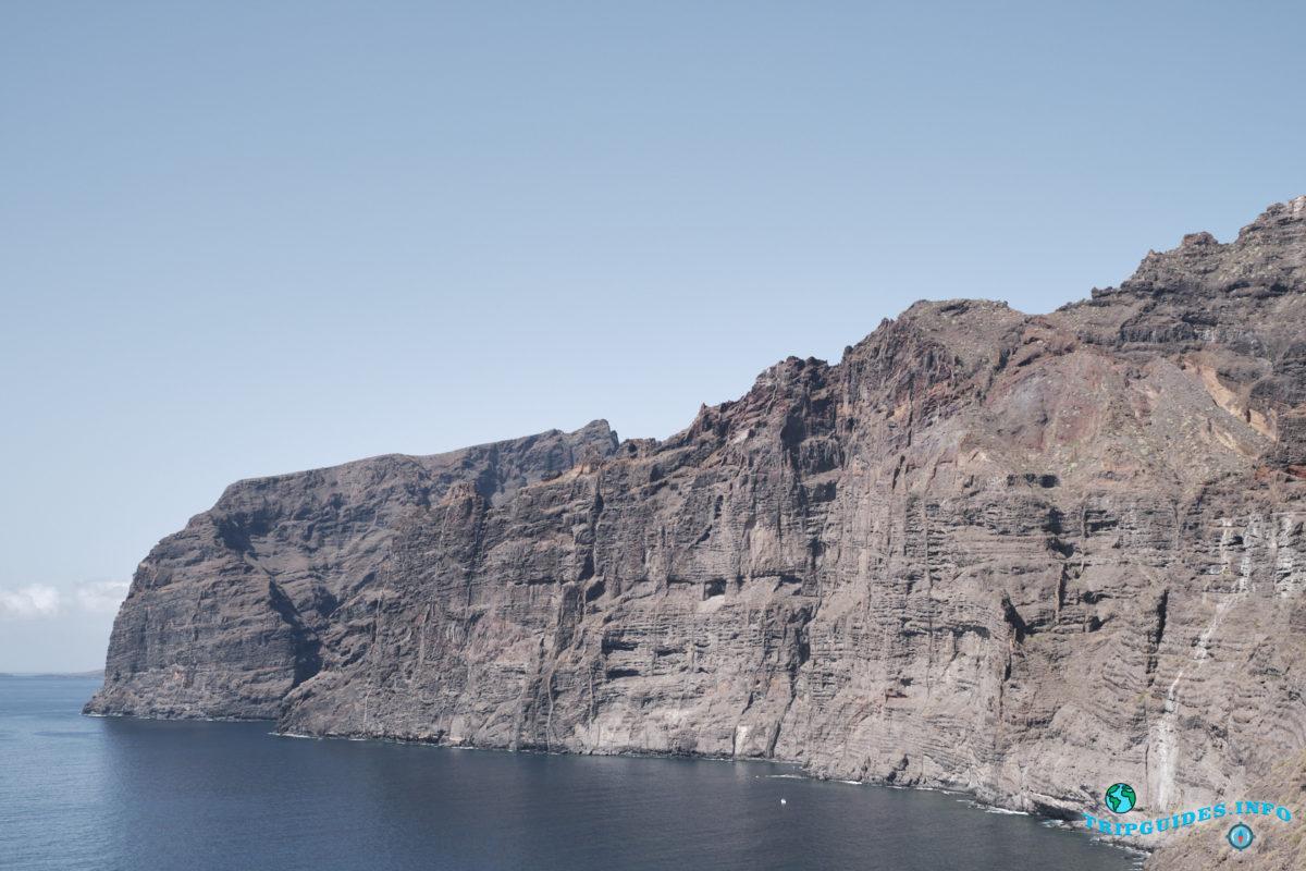 Лос Гигантес на Тенерифе - Канарские острова, Испания