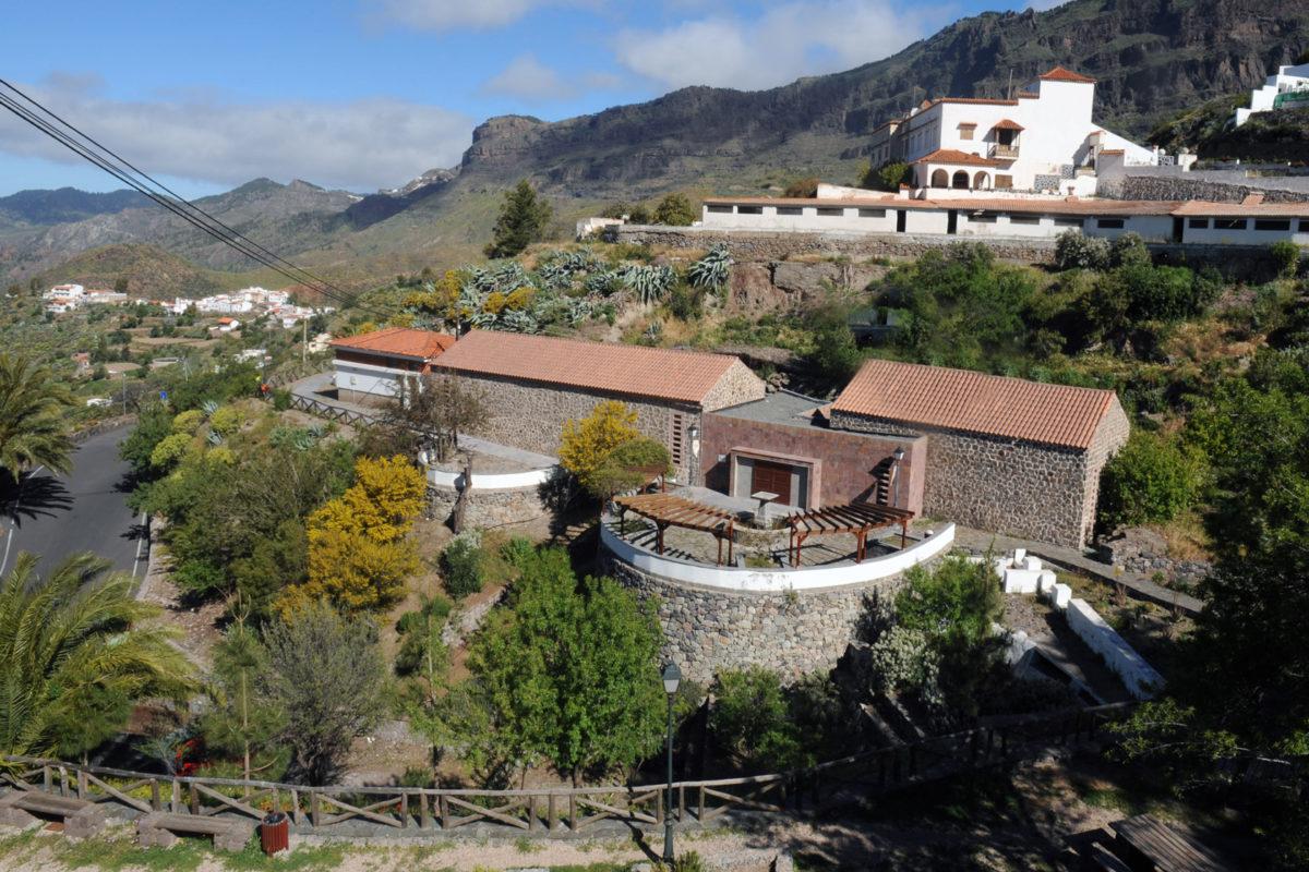 Музей лекарственных растений в Техеда на Гран-Канарии - Канарские острова, Испания