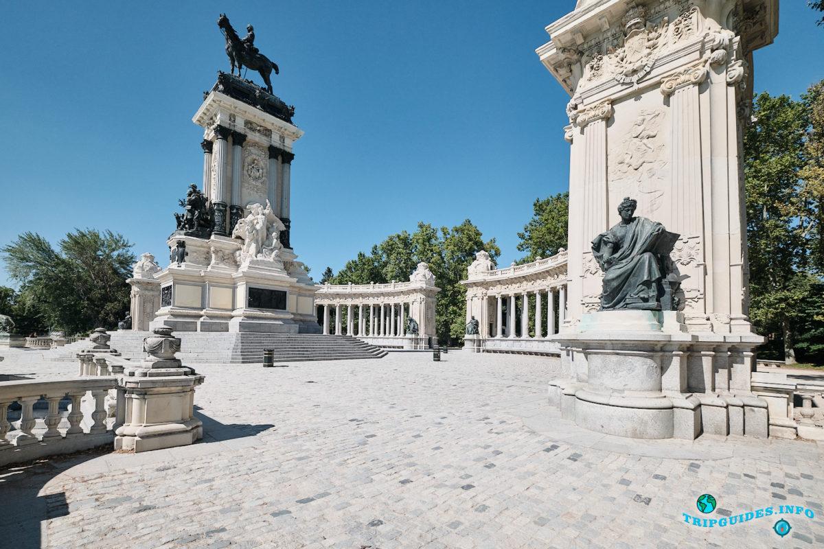 Парк Буэн-Ретиро в Мадриде - Испания (Parque del Buen Retiro)