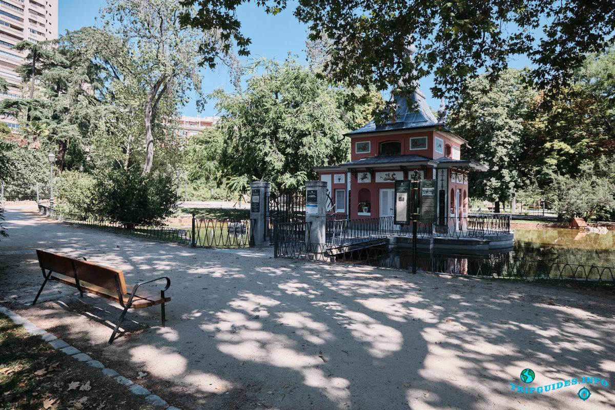 Дом рыбака (La Casita del Pescador) - Парк Буэн-Ретиро в Мадриде - Испания (Parque del Buen Retiro)