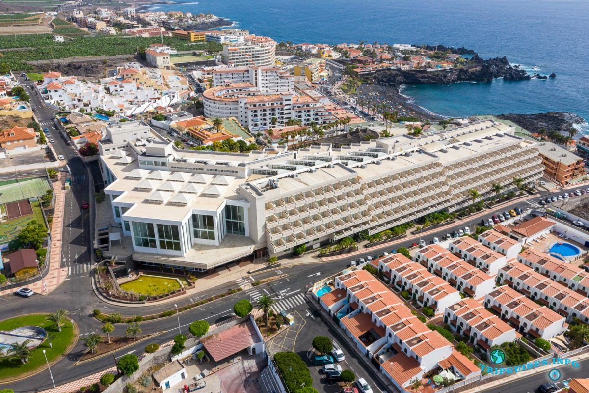 Отель Hotel Landmar Playa La Arena в Пуэрто-де-Сантьяго Тенерифе - Канарские острова, Испания - Puerto de Santiago