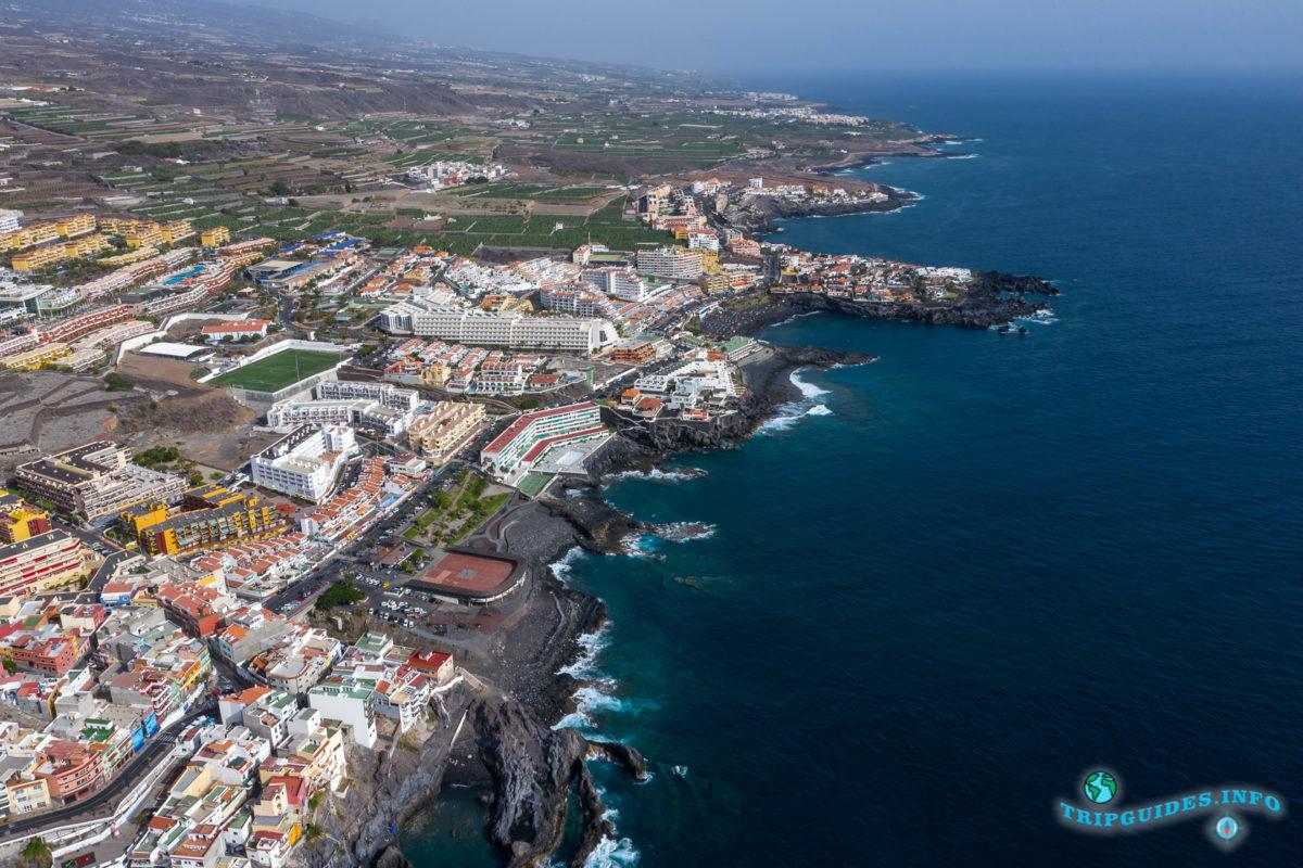 Пуэрто-де-Сантьяго Тенерифе - Канарские острова, Испания - Puerto de Santiago