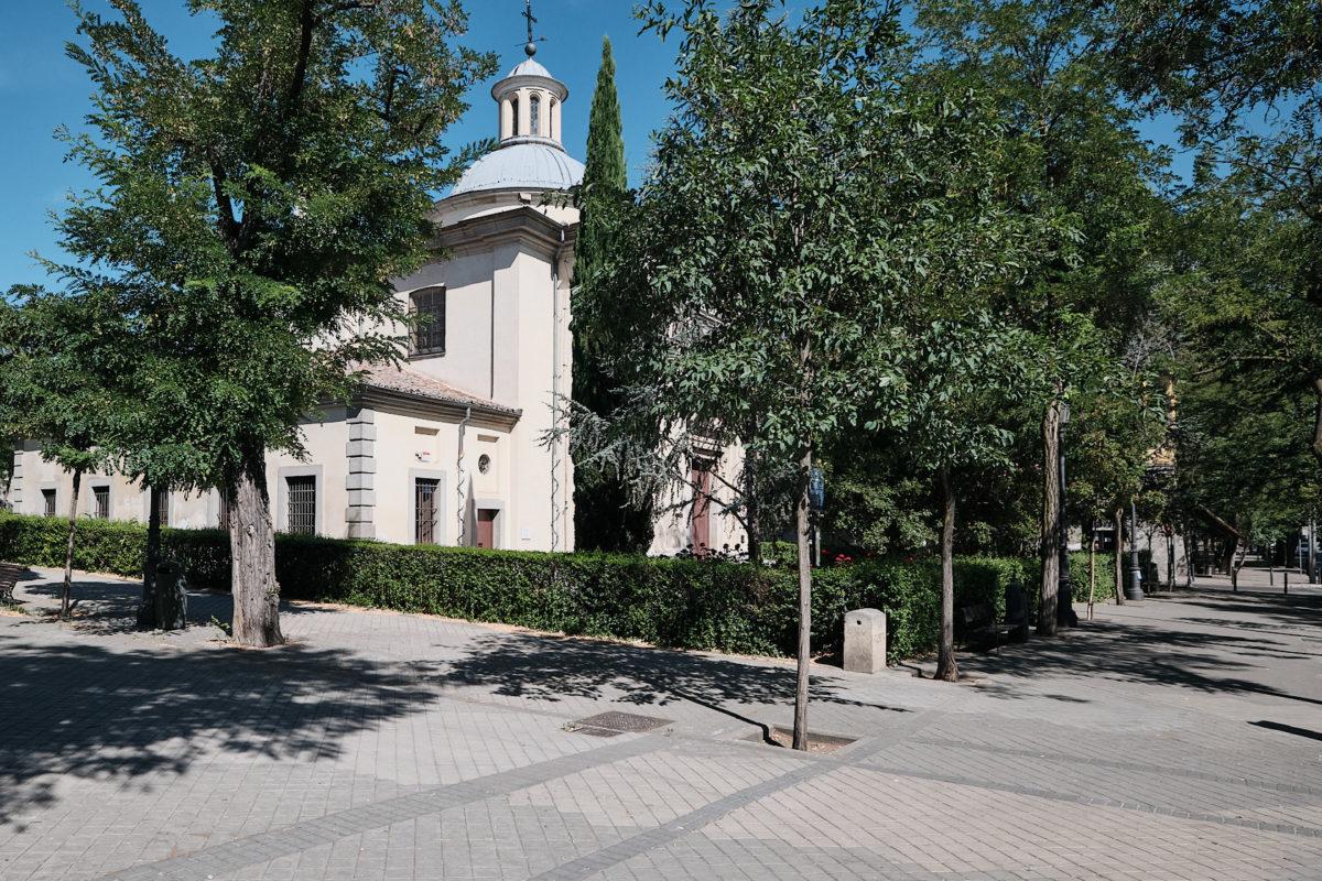 Пустынь Святого Антония Флоридского в Мадриде, столице Испании (Ermita de San Antonio de la Florida)