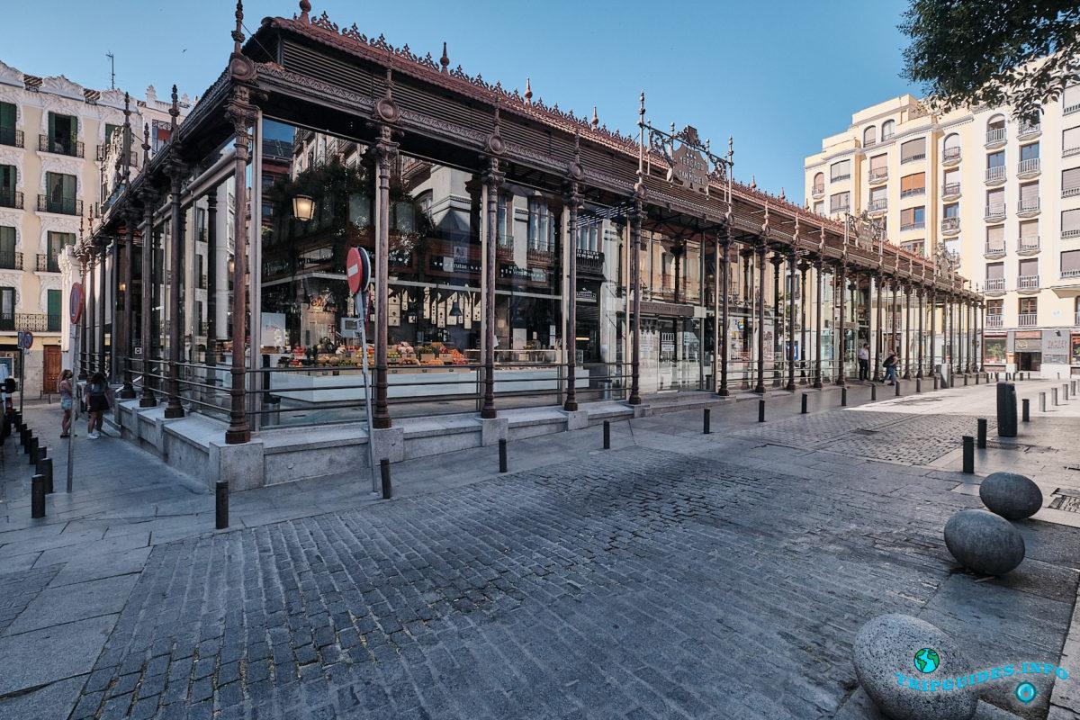 Рынок Сан-Мигель в Мадриде (Mercado de San Miguel) - столица Испании