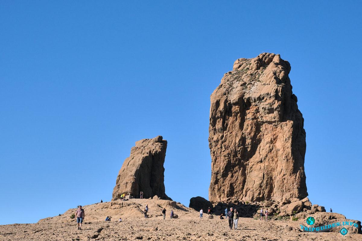 Скала Роке-Нубло на Гран-Канарии - Канарские острова, Испания
