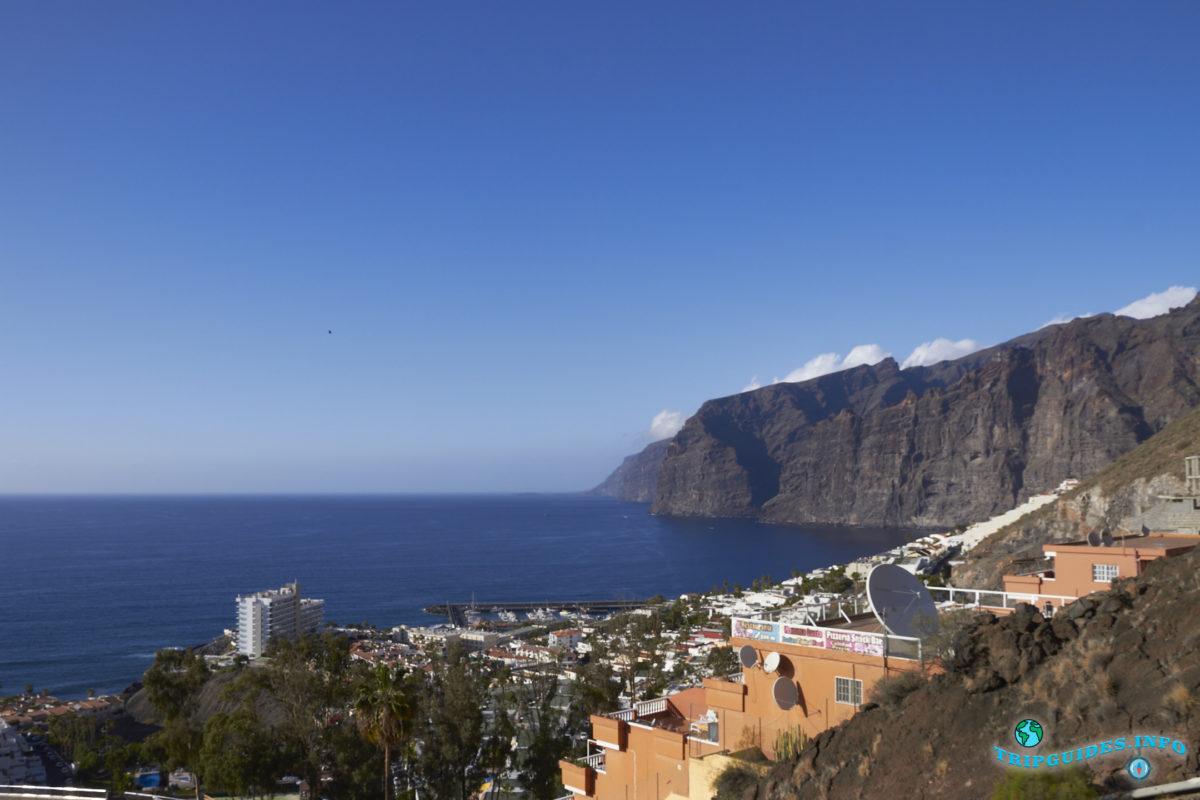 Смотровая площадка Мирадор Арчипенке на Тенерифе - Канарские острова, Испания - Puerto de Santiago