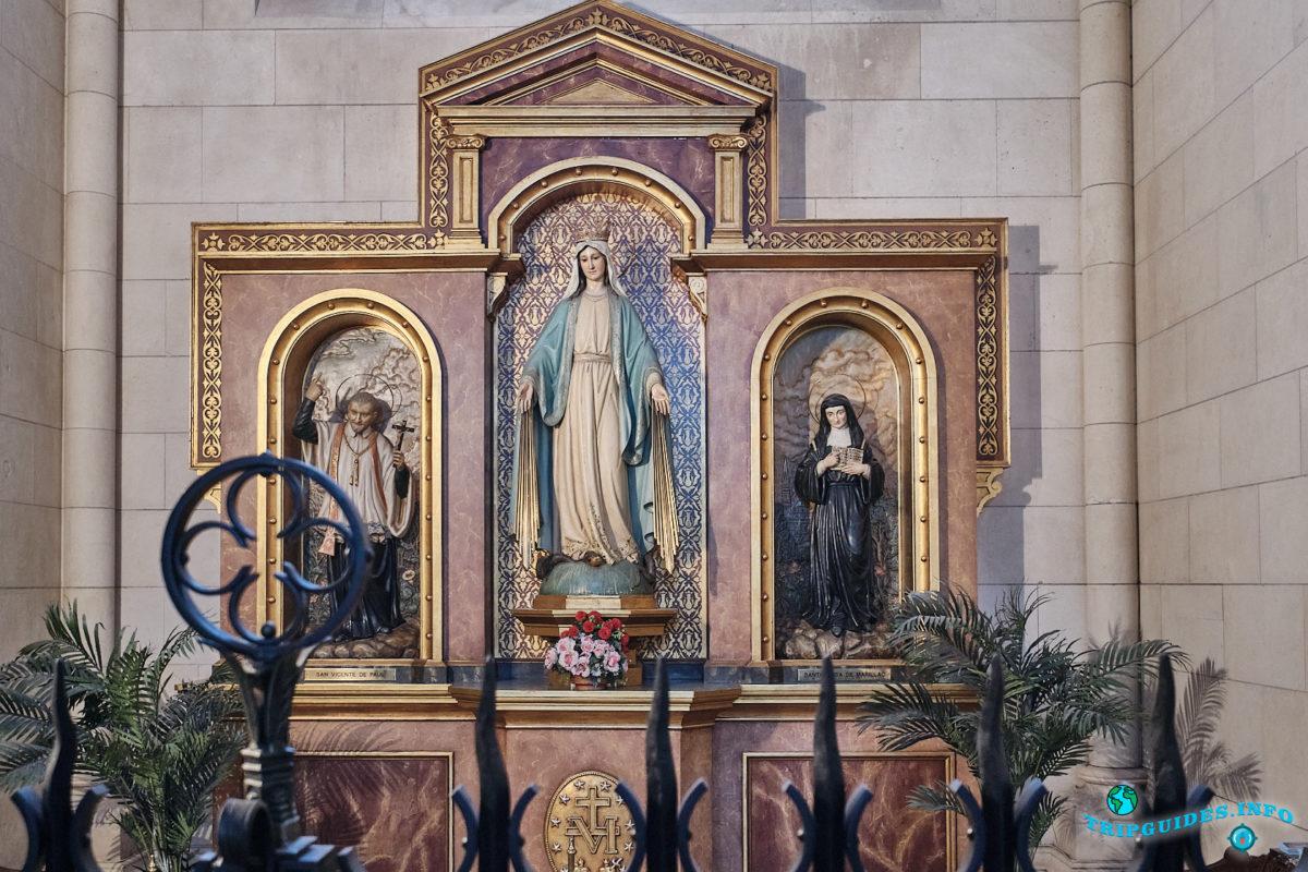 Собор Альмудена в Мадриде - столица Испании (Catedral de Santa María la Real de la Almudena)