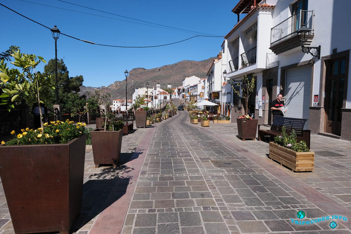 Техеда - поселок на Гран-Канарии - Канарские острова, Испания