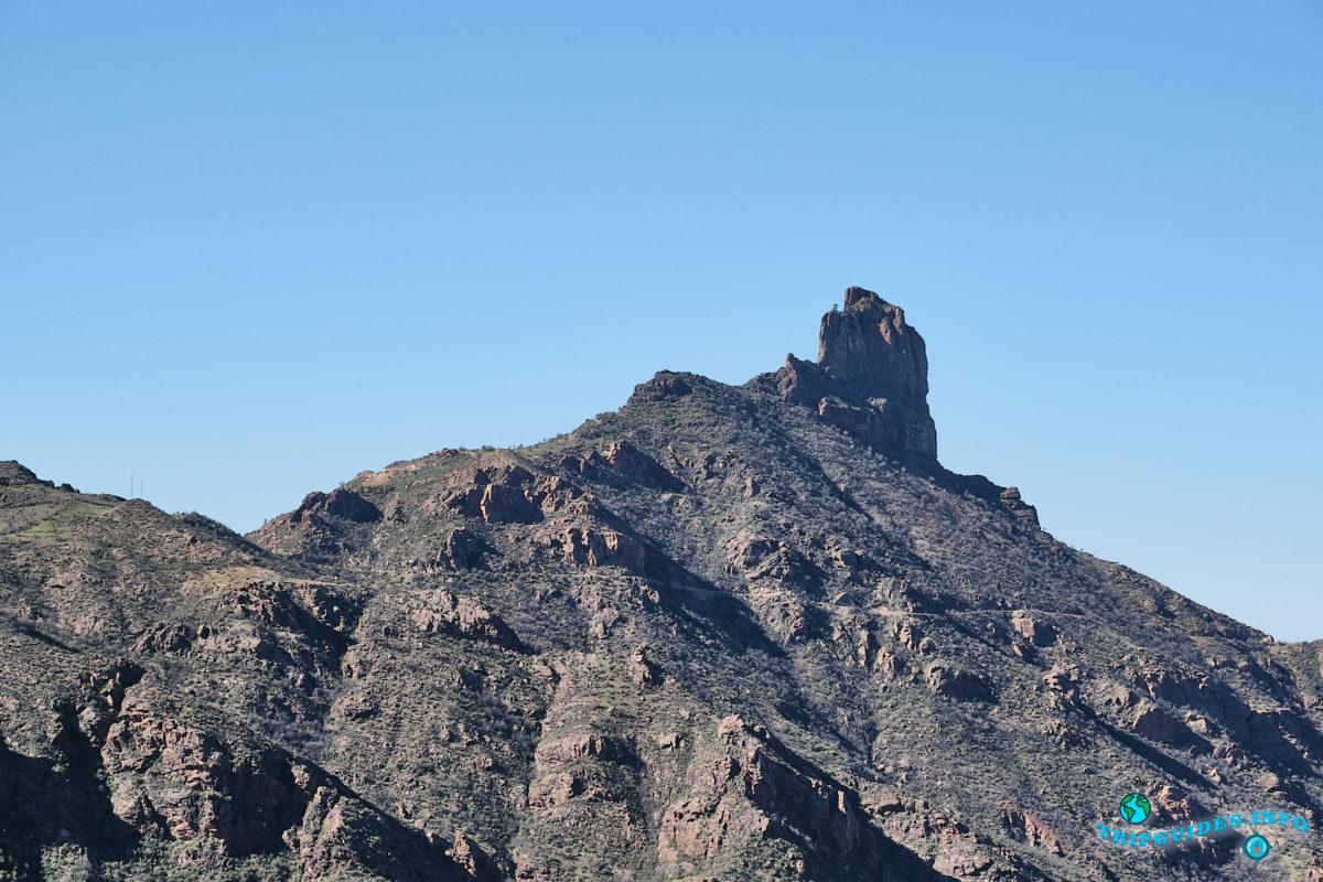 Скала Бентайга в Техеда на Гран-Канарии - Канарские острова, Испания