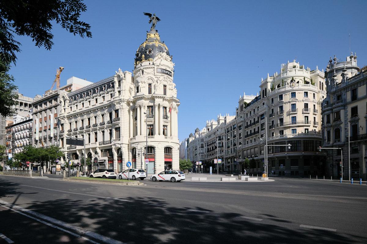 Экскурсии по Мадриду с гидом - Улица Гран-Виа