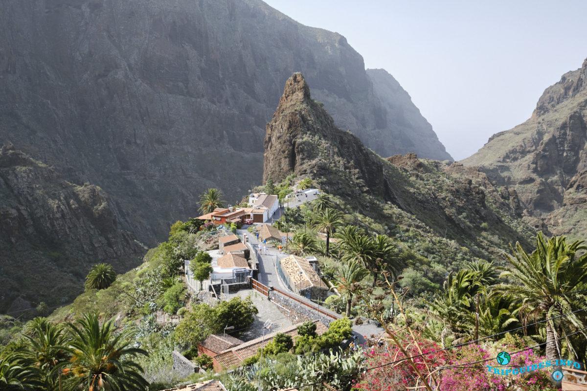 Ущелье Маска на Тенерифе - Канарские острова, Испания