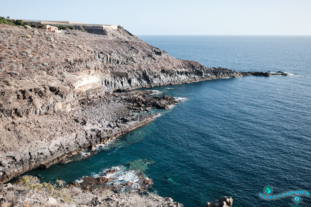 Вид со смотровой площадки Эль-Мирадор на Тенерифе (Канарские острова, Испания)