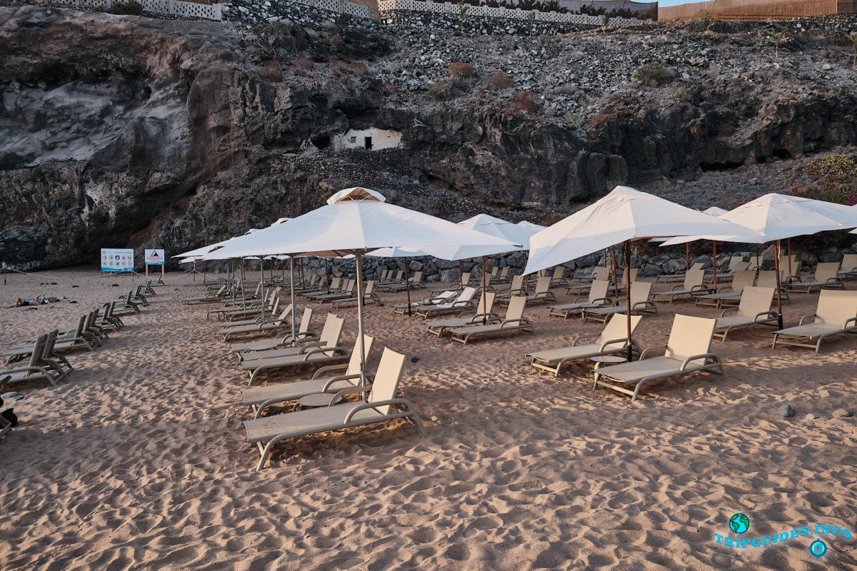 Абама (Playa de Abama) - пляж на Тенерифе (Канарские острова, Испания)