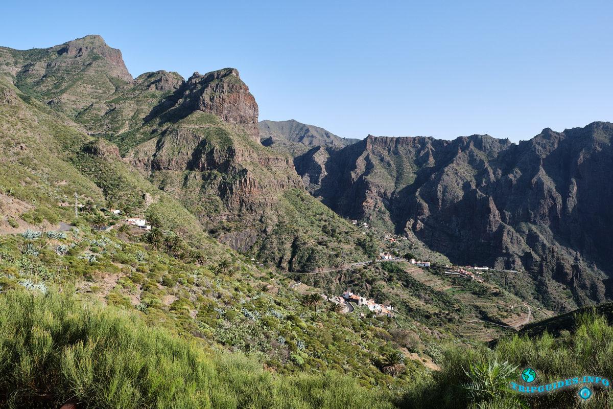 Ущелье - Маска на Тенерифе - Канарские острова, Испания