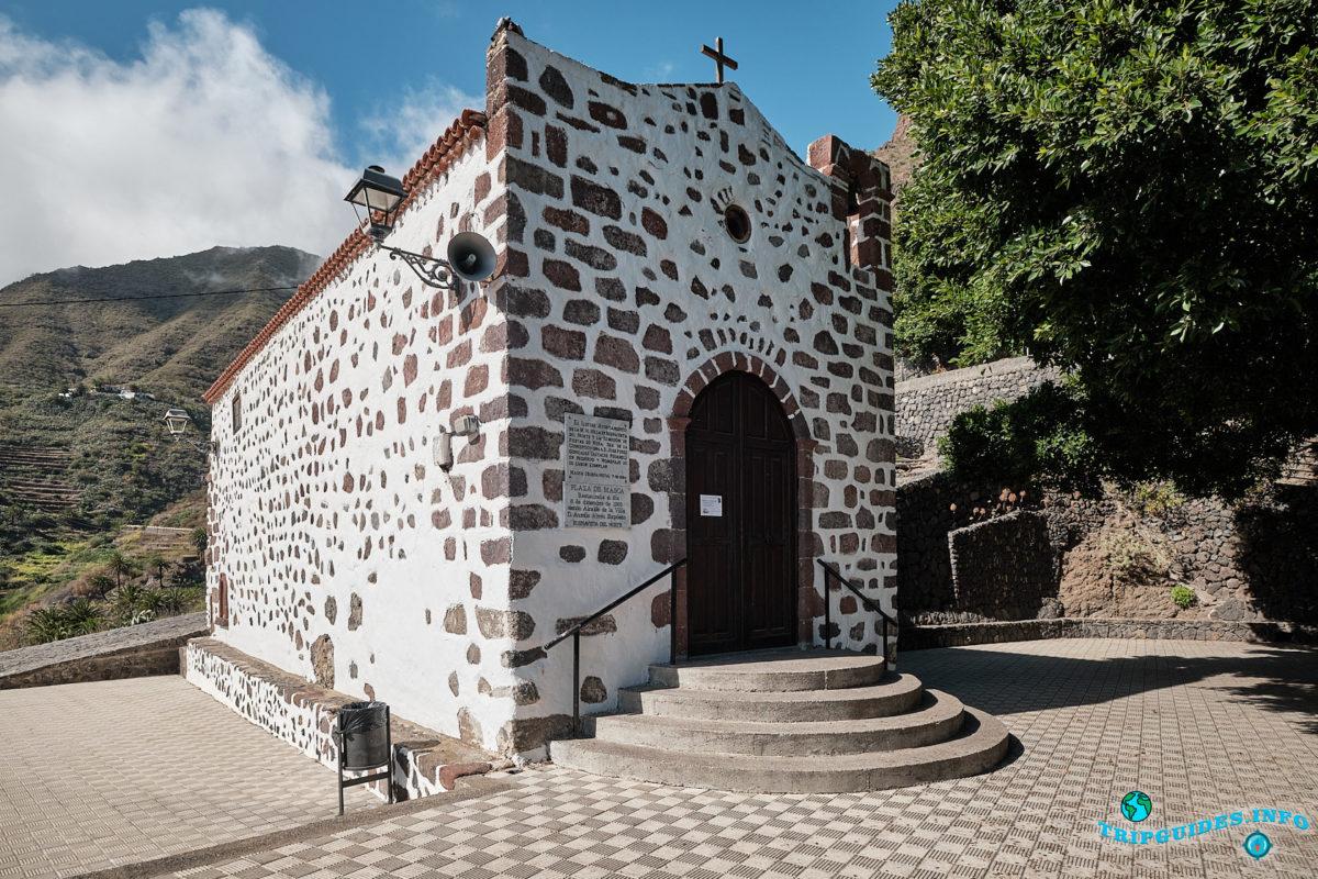 Часовня Непорочного Зачатия в деревне Маска на Тенерифе (Канарские острова, Испания)