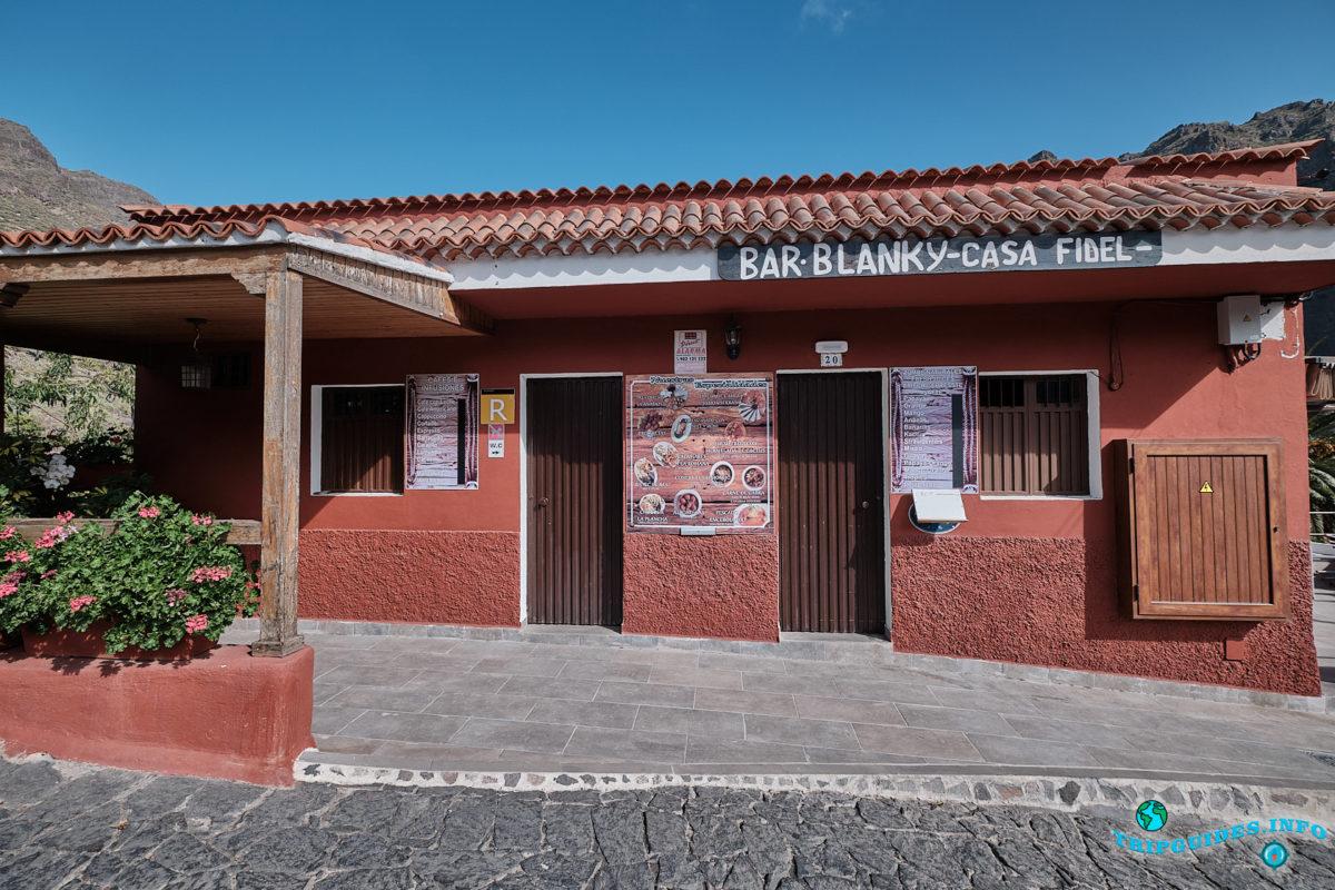 Ресторан Blanky в деревне Маска на Тенерифе